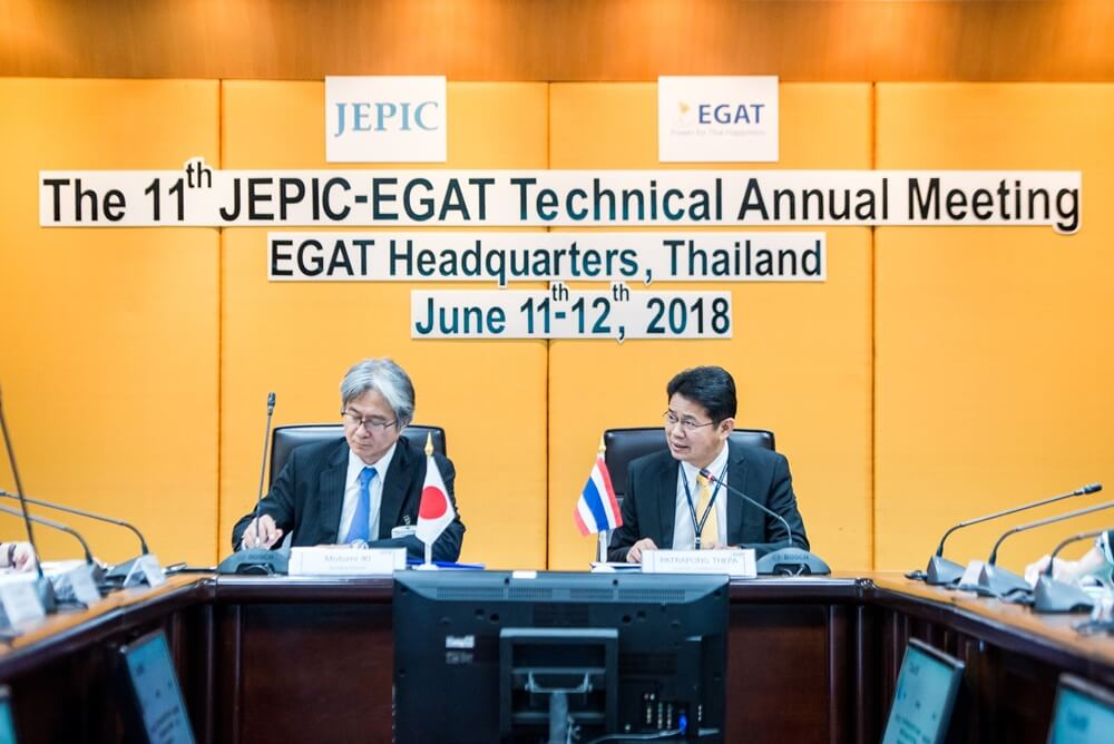 EGAT and JEPIC join an academic conference to share Thai-Japanese electricity situation