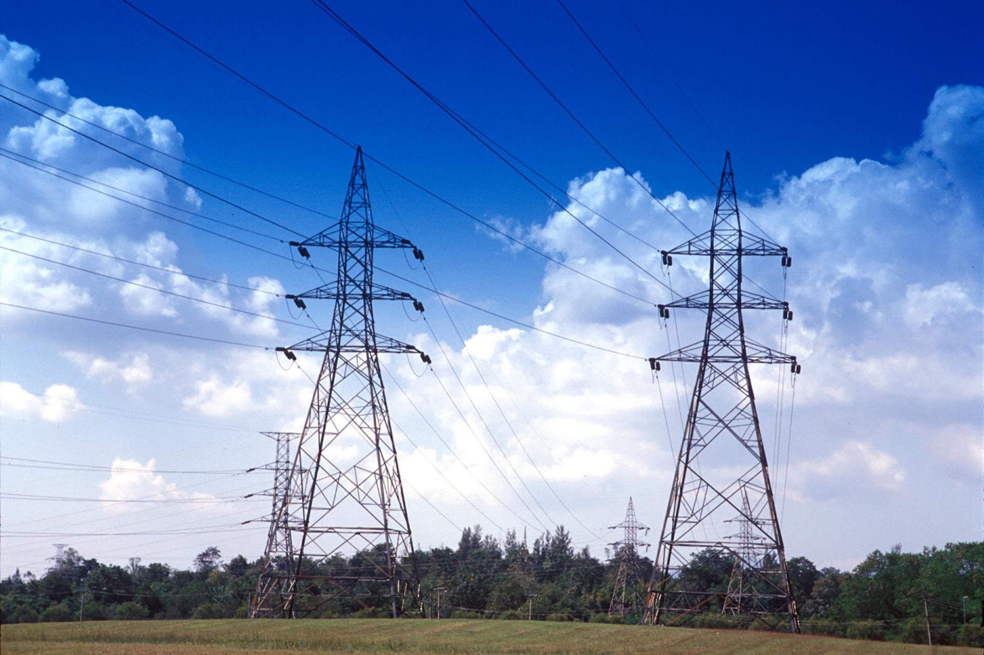 ข้อมูลระบบส่งไฟฟ้า