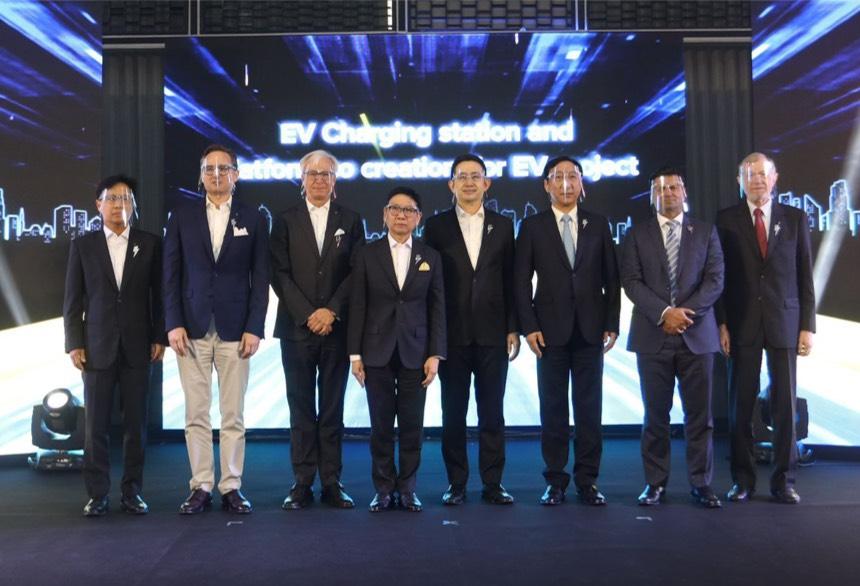 """กฟผ. ร่วมสร้างสังคมแห่งการเดินทางยุคใหม่เปิดตัวธุรกิจ """"EGAT EV Business Solutions"""" จับมือค่ายรถยนต์ระดับโลกร่วมขับเคลื่อนอุตสาหกรรมยานยนต์ไฟฟ้าไทย"""